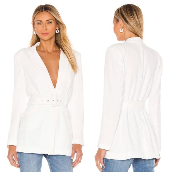 NBD Niko blazer in white size xs NWT